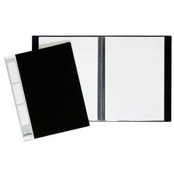 Sichtbuch Kunststoff A4 50 Hüllen schwarz
