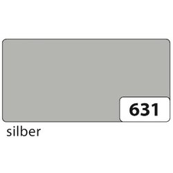 Plakatkarton 380g 48x68cm silber