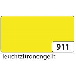 Plakatkarton 380g 48x68cm leucht zitronengelb