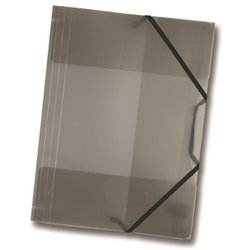 Sammelmappe Folia 6981 PP A4 transparent anthrazit