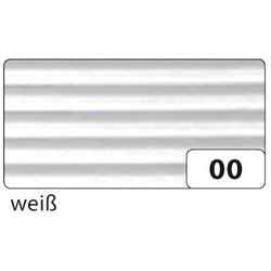 Wellpappe 50x70cm 10Bg weiß