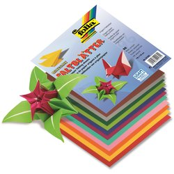 Origamipapier Faltblatt 80g 13x13cm 96Bl sortiert