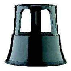 Rollhocker 40cm hoch schwarz