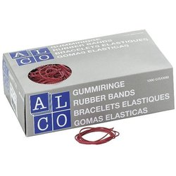 Gummiring Alco Ø50mm rot 1000g