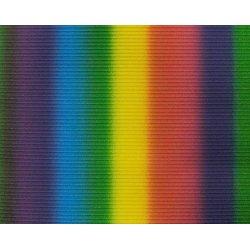 Wellpappe gerollt 50x70cm Regenbogen