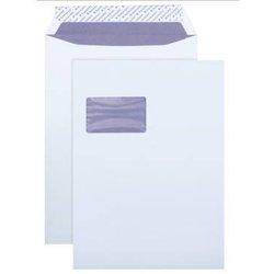 Versandtasche mit Fenster Büroring DIN C4 weiß  120g/m² 250St