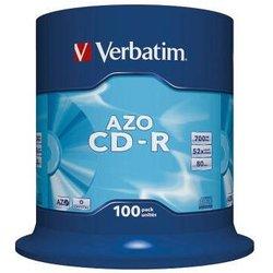 CD-Rohlinge 80 Min. 700MB 52-fach, 100-er Spindel