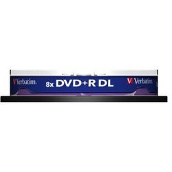 Rohling DVD+R Double Layer 8,5 GB, 8x, 10er Spindel