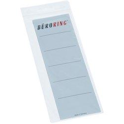 Rückenschildetiketten selbstklebend breit/kurz weiß