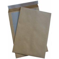 Papprückenwand-Tasche DIN C4 braun  110g/m² 125St