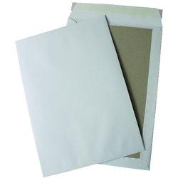 Papprückenwand-Tasche DIN B4 weiß  120g/m² 125St