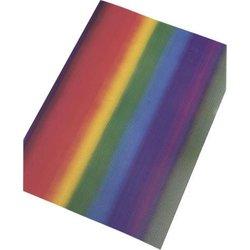 Wellpappe 50x70cm 10Bg Regenbogen