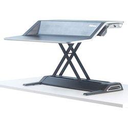 Sitz-Steh Workstation Lotus, schwarz 22 Höheneinstellungen, Gegengewicht-