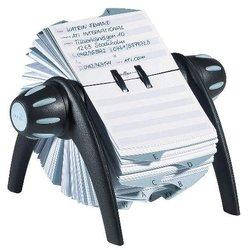Rollkartei Telindex 500 Karten schwarz