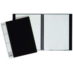 Sichtbuch Kunststoff A4 20 Hüllen schwarz