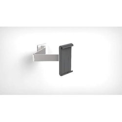 Tablet Holder Wall Arm silber metallic