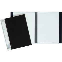 Sichtbuch Kunststoff A4 10 Hüllen schwarz
