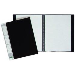 Sichtbuch Kunststoff A4 30 Hüllen schwarz
