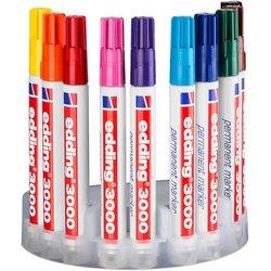 Permanentmarker 3000 Rundpitze 1,5-3mm 10 Stifte sortiert in einer Arbeitsbox