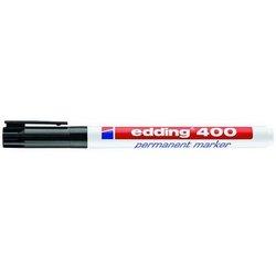 Permamentmarker 400 Rundspitze 1mm schwarz