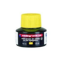 Textmarker-Nachfülltusche Edding HTK25 25ml gelb