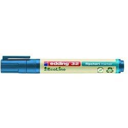 EcoLine Flipchartmarker 32 Keil, blau