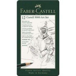 Bleistift Art Set 12St im Metalletui 8B 2H