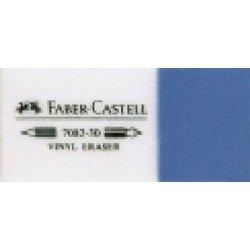 Radiergummi Kombi Kunststoff weiß/blau 18x12x41mm