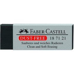 Radiergummi Dusty-Free Kunststoff schwarz 63x11x22