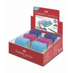 Radierer Faber Castell 183049 BICOLOR farbig sortiert 2019