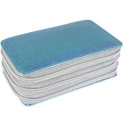 Schüleretui E.Faber 577562 Triple-Decker 29-tlg befüllt Glitter blau