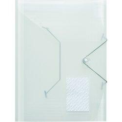 Eckspanner-Sammelmappe Polypropylen transparent
