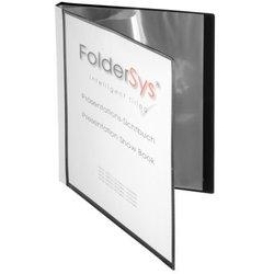 Präsentations-Sichtbuch Polypropylen A4 20 Hüllen schwarz