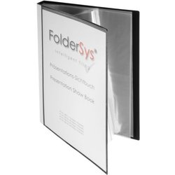 Präsentations-Sichtbuch Polypropylen A4 30 Hüllen schwarz