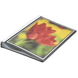 Präsentations-Sichtbuch Polypropylen A4 50 Hüllen schwarz