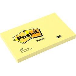Haftnotizen 127x76mm gelb 100Bl