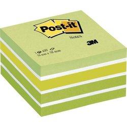 Haftnotizwürfel 76x76mm Pastellgrün 450Bl