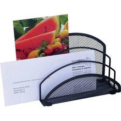 Briefständer Wedo 65301 Office Drahtmetall 3 Fächer schwarz