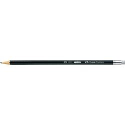 Bleistift 1112 Härtegrad HB mit Gummitip sechskant