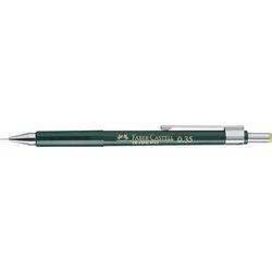 Druckbleistift TK Fine Härtegrad HB 0,35mm mit 3 Minen dunkelgrün