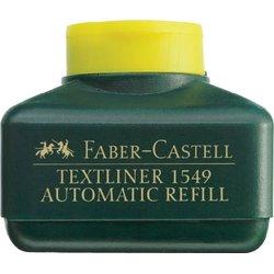 Nachfülltinte für Textmarker Faber Castell 25ml gelb
