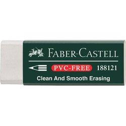 Radiergummi Vinyl Eraser Kunststoff weiß 22x12x61mm