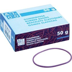 Gummiring Alco Ø50mm rot 50g