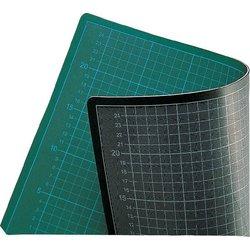 Schneidematte 60x45cm grün/schwarz