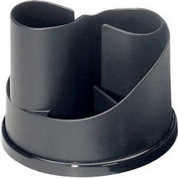 Schreibtisch-Butler Taichi, schwarz
