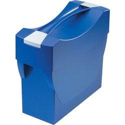 Hängemappenbox Polystyrol A4 blau