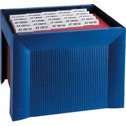 Hängemappenkorb Polystyrol A4 blau
