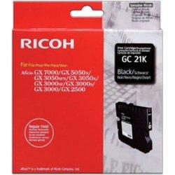 Gel-Tintenkartusche Type GC-21K schwarz für GX3000,3050N,5050N
