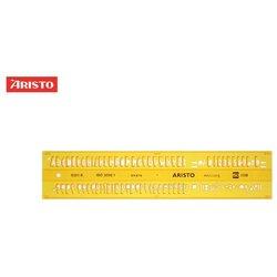 Schriftschablone Aristo 5301 gerade Schrift 5,0mm