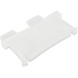 Stützplatten Polystyrol A8 quer transluzent klar